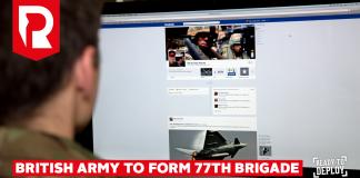 77. brigáda britské armády bude bojovat na neviditelné frontě. Foto: Recruitspack.com