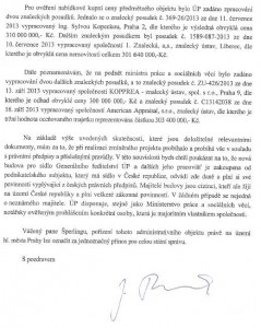 Jak někdejší premiér Jiří Rusnok reagoval na kritiku koupě nové budovy pro Úřad práce. Repro: FB / Michal Šperling