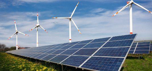 větrná elektrárna, OZE, solar