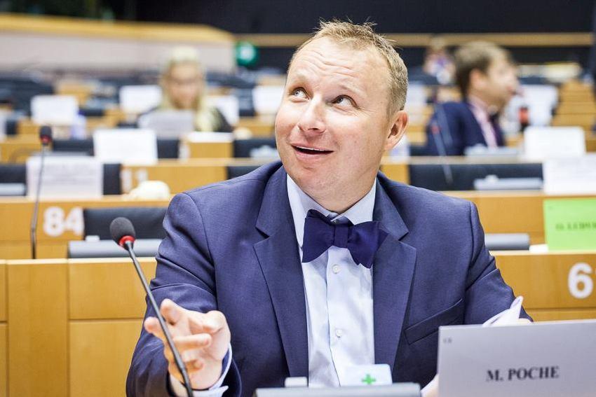 Český europoslanec Miroslav Poche (ČSSD, S&D), zdroj: Facebook.com